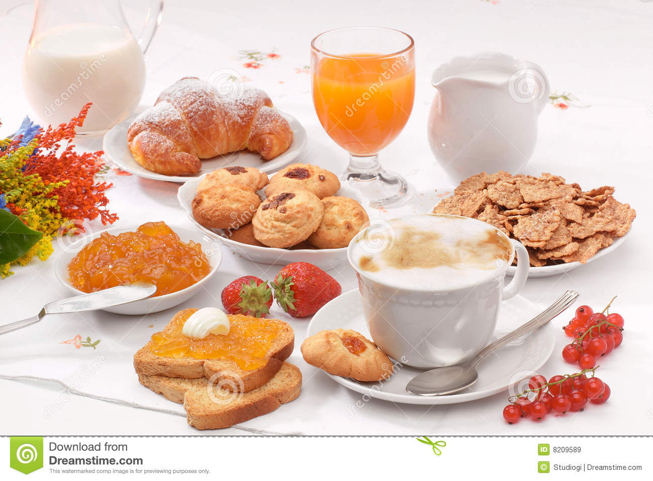 Breakfast Royalty Free Stock Images Image 8209589