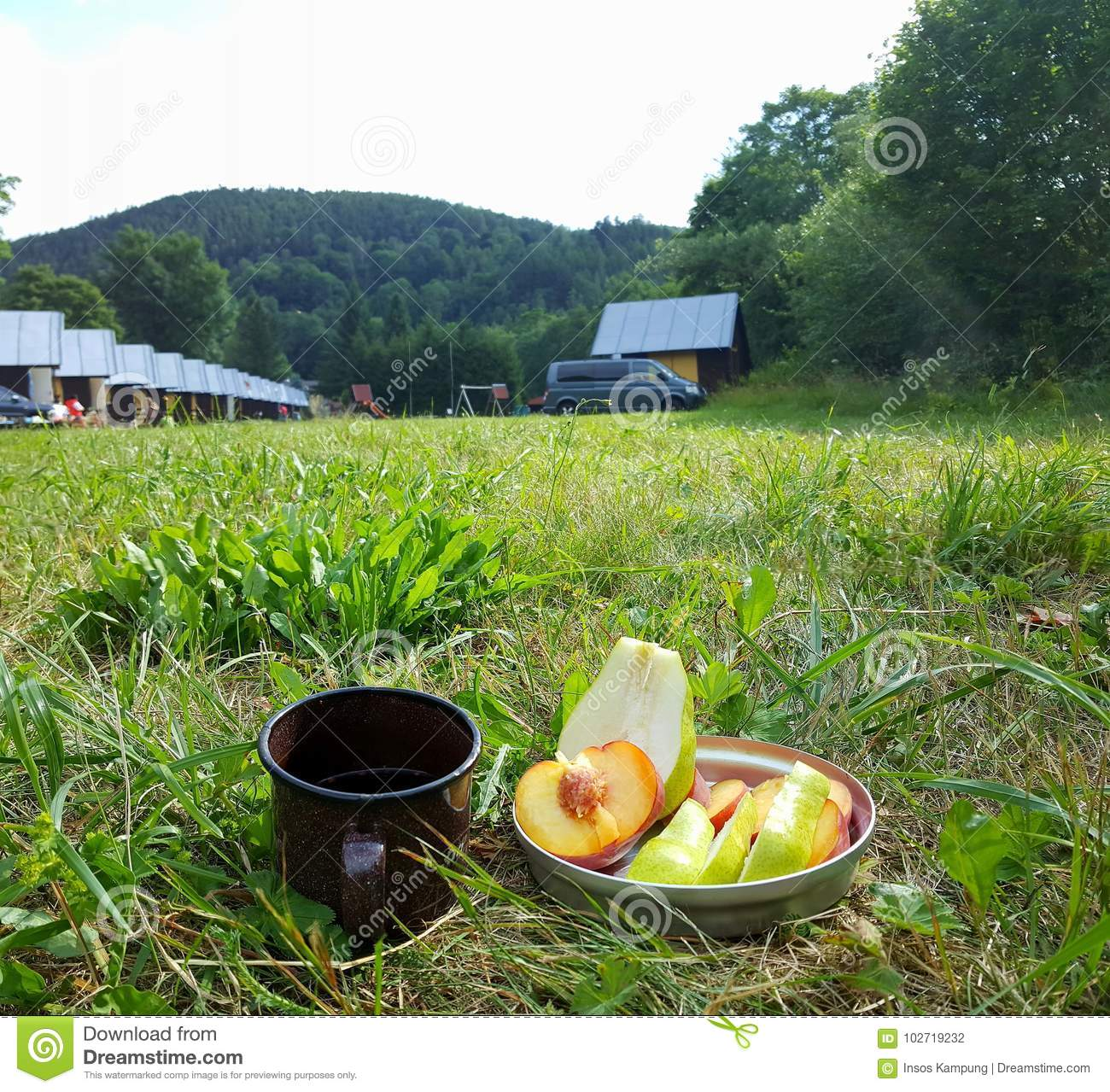 Breakfast at the Camp Site