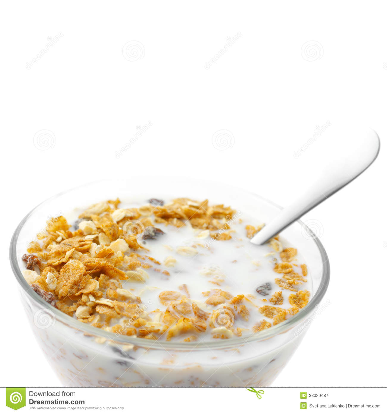 Bowl Of Cereal Clipart Breakfast cereal