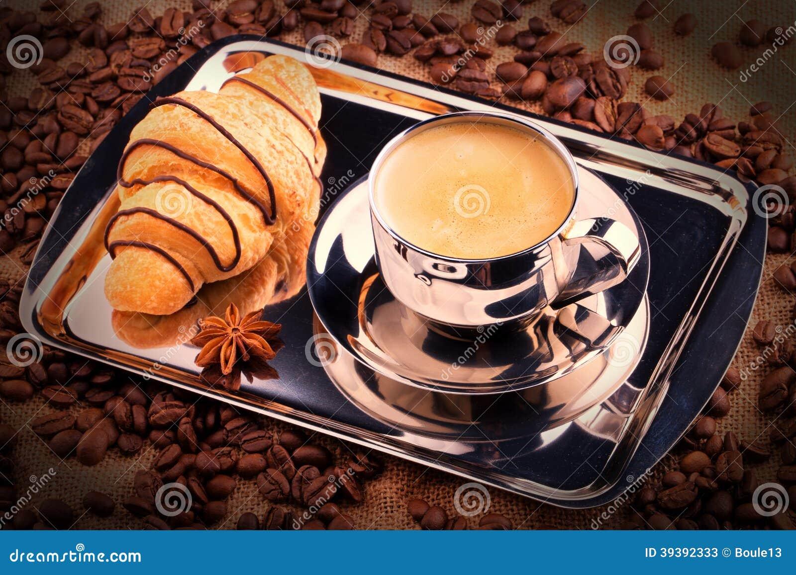 Breakfast Coffee Stock Image Image Of Chocolate Drink