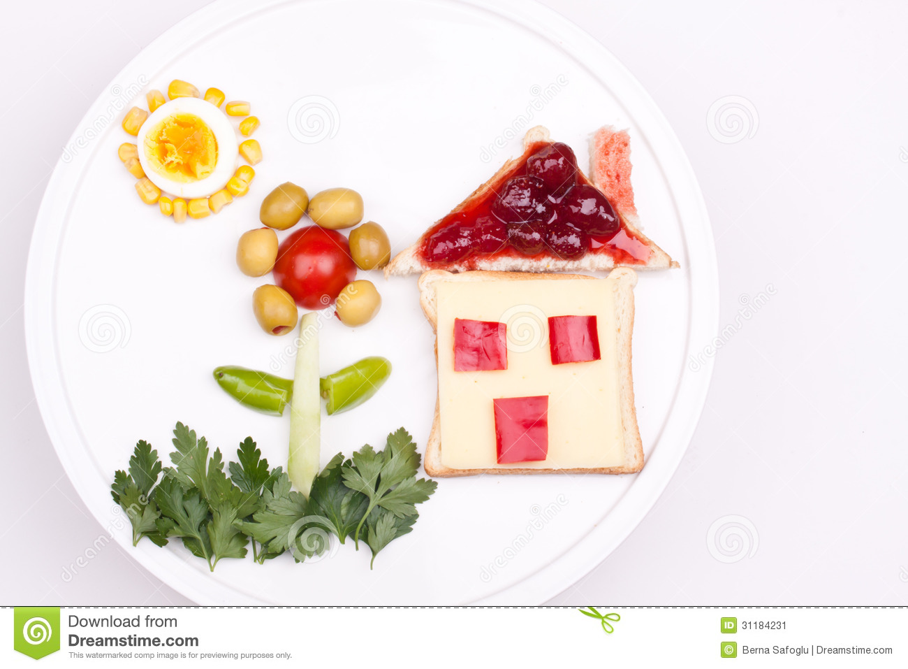 Breakfast For Kids Stock Image - Image: 31184231