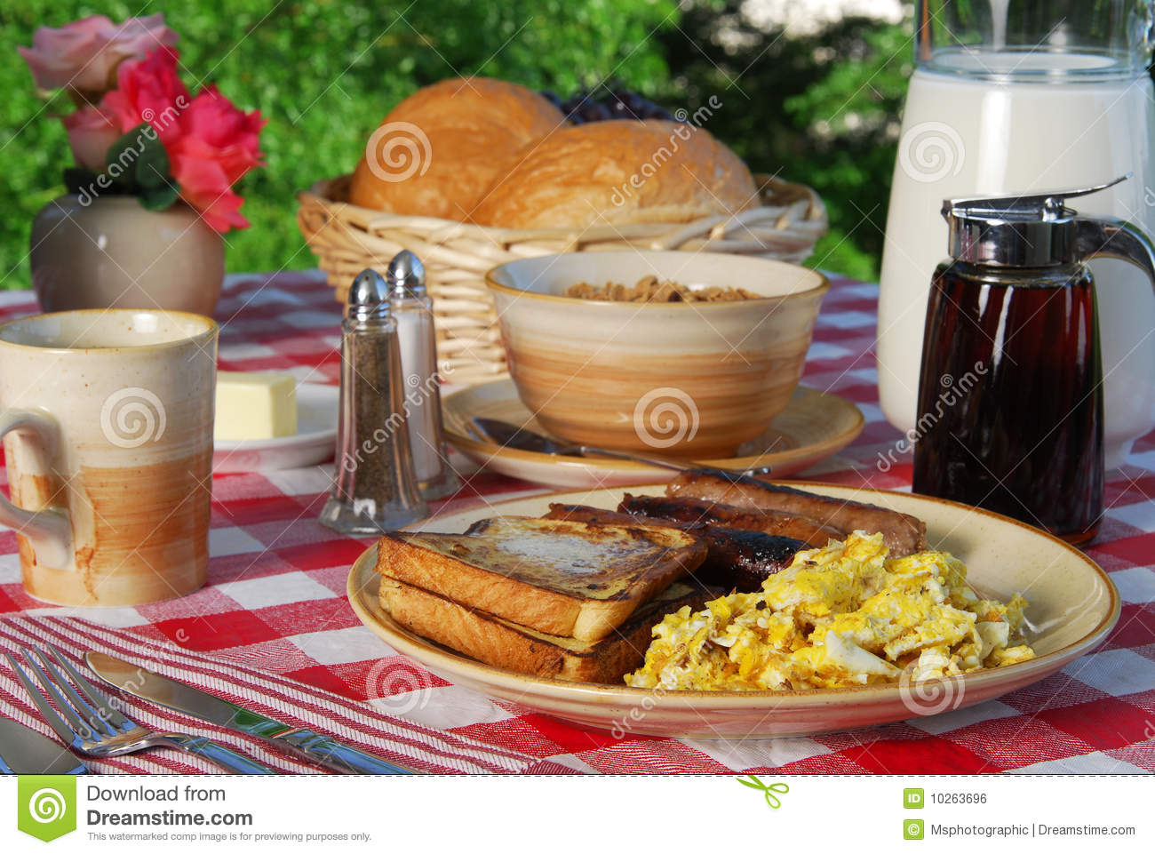 Breakfast on the terrace royalty free stock image image for The terrace brunch