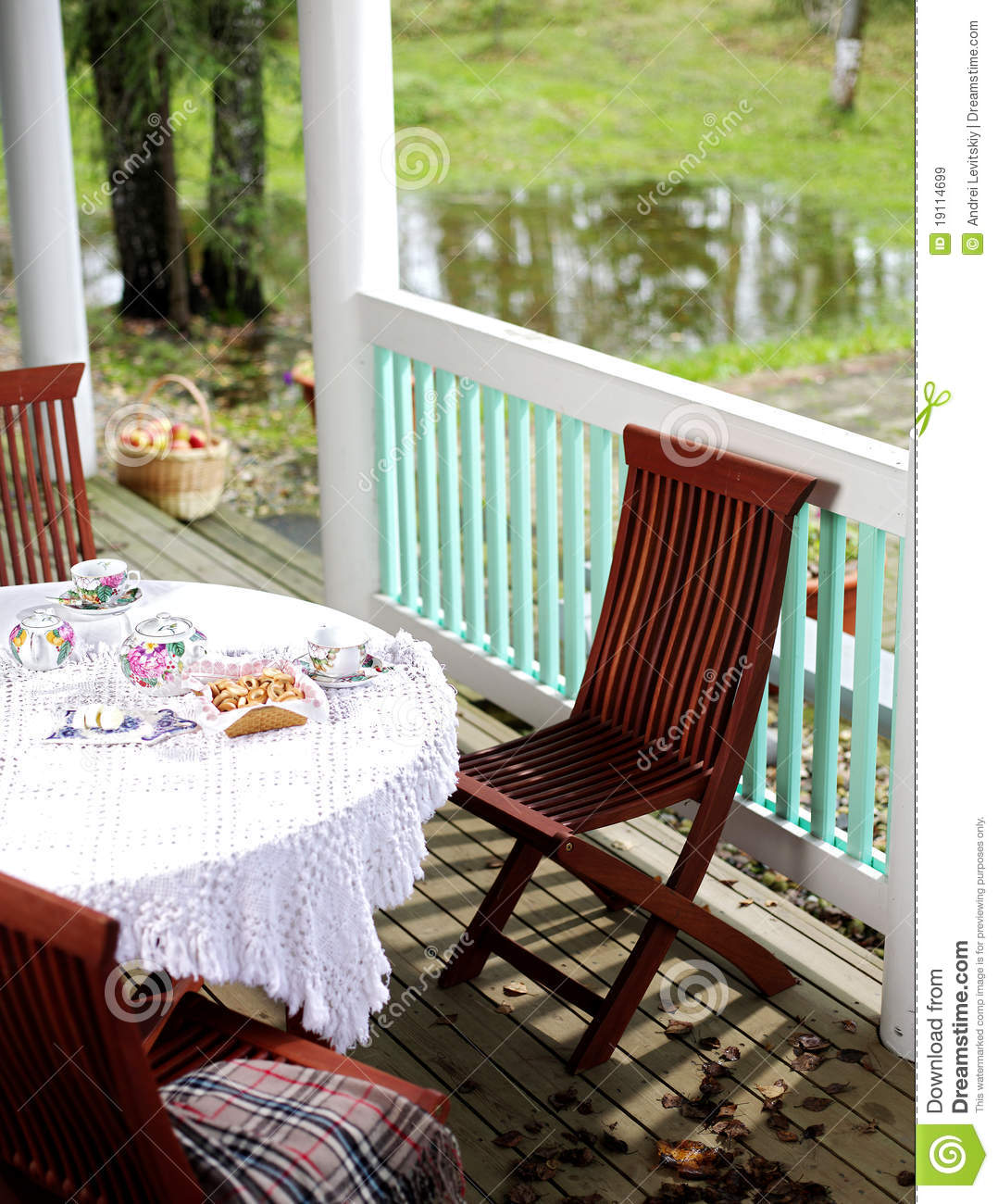 Breakfast on the terrace royalty free stock images image for The terrace brunch