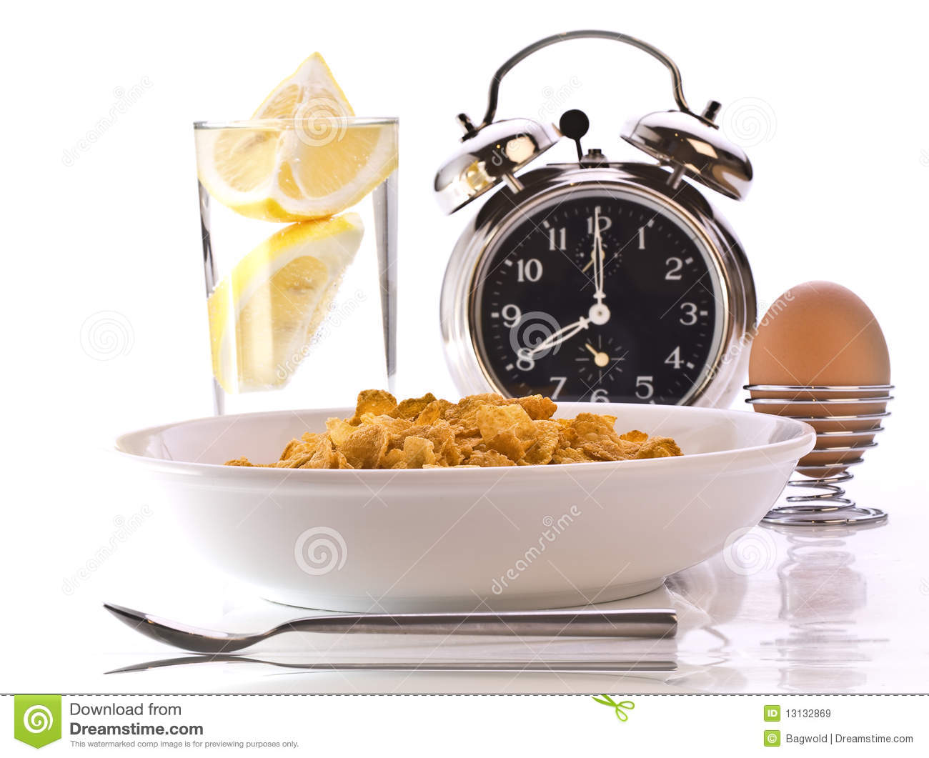 Breakfast Time Royalty Free Stock Images - Image: 13132869