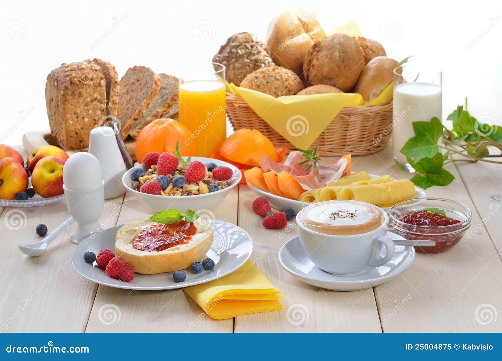 Royalty Free Coffee Basket Of Food