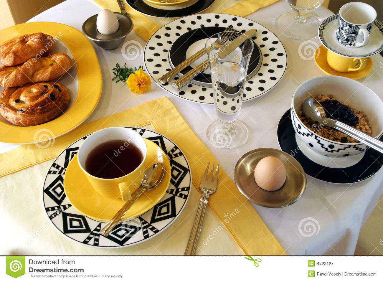 Breakfast Time Royalty Free Stock Photography Image 4722127