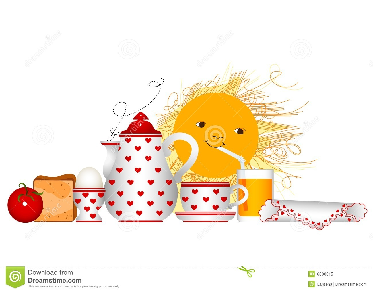Breakfast Time Royalty Free Stock Photo - Image: 6000815