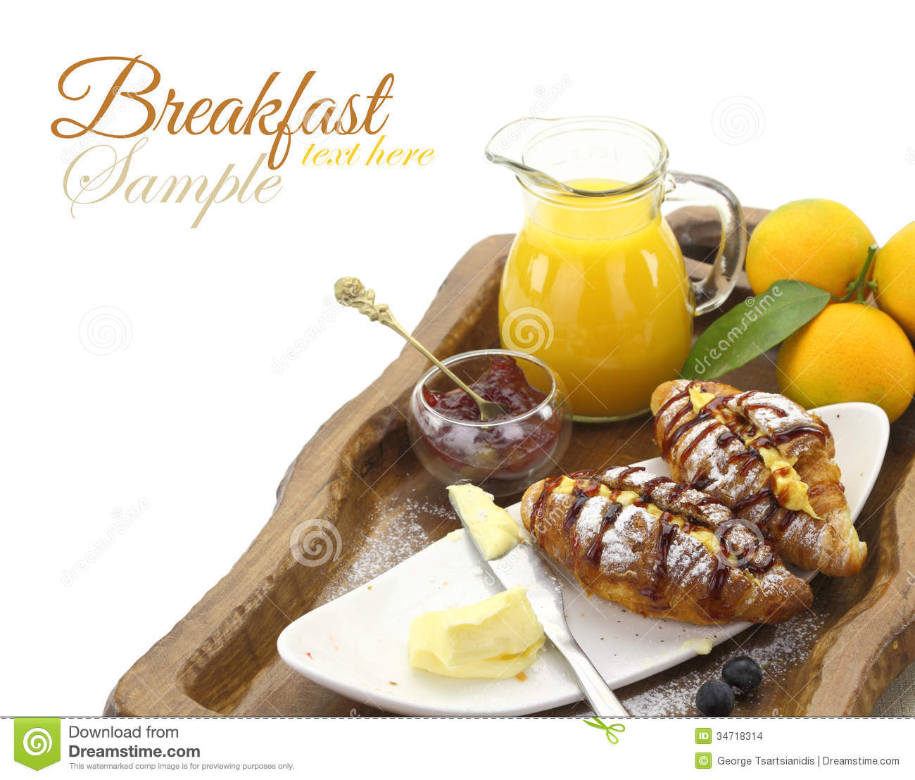 Breakfast Time Stock Images - Image: 34718314