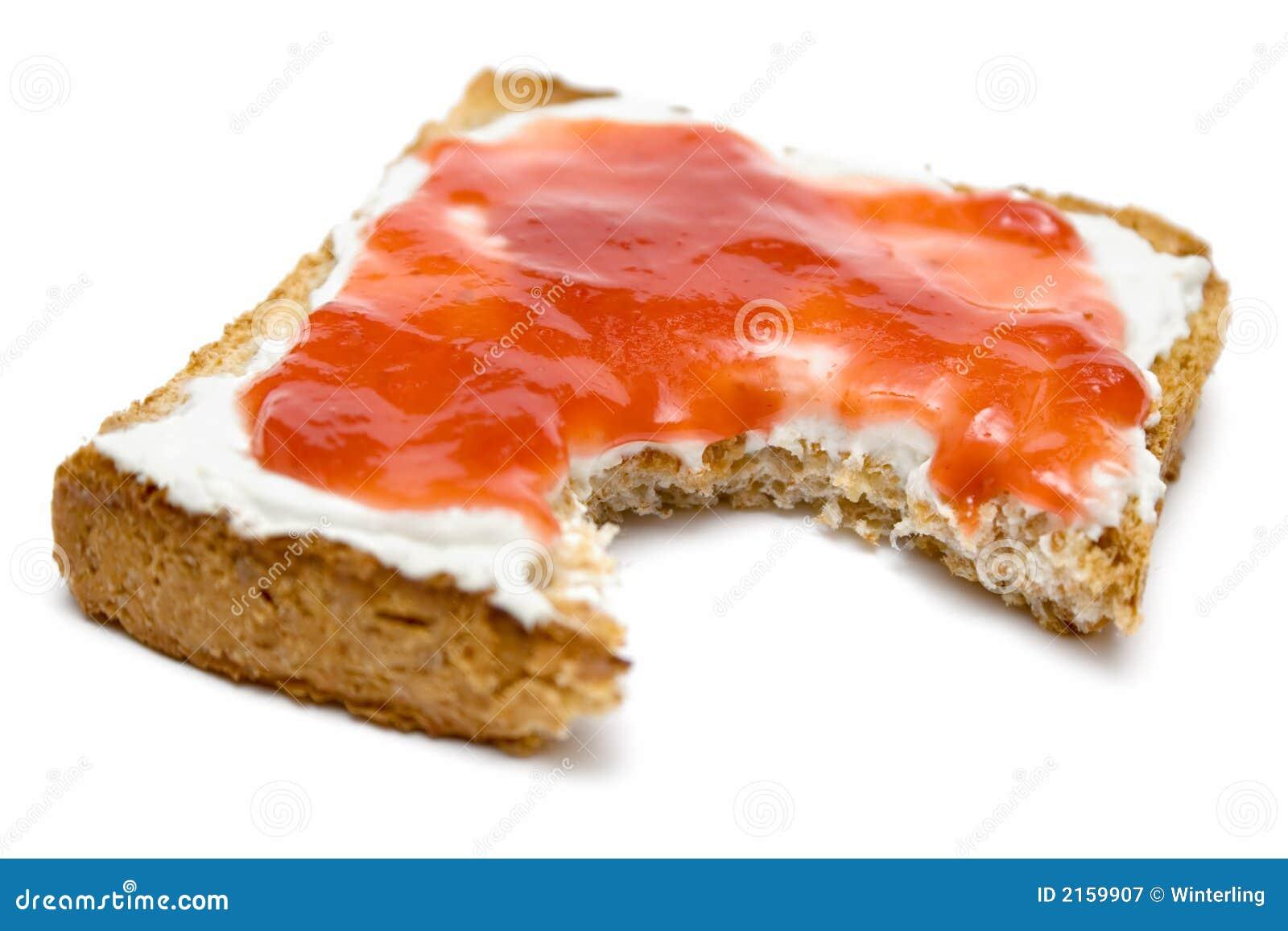 Breakfast Toast with Jam