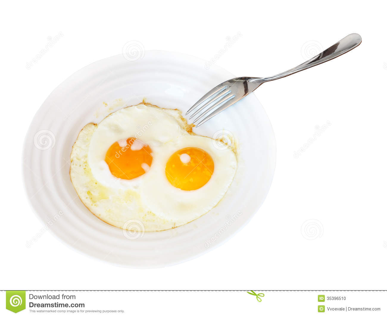 Kitchen Riffs: Fried Eggs  |Fried Eggs On A Plate