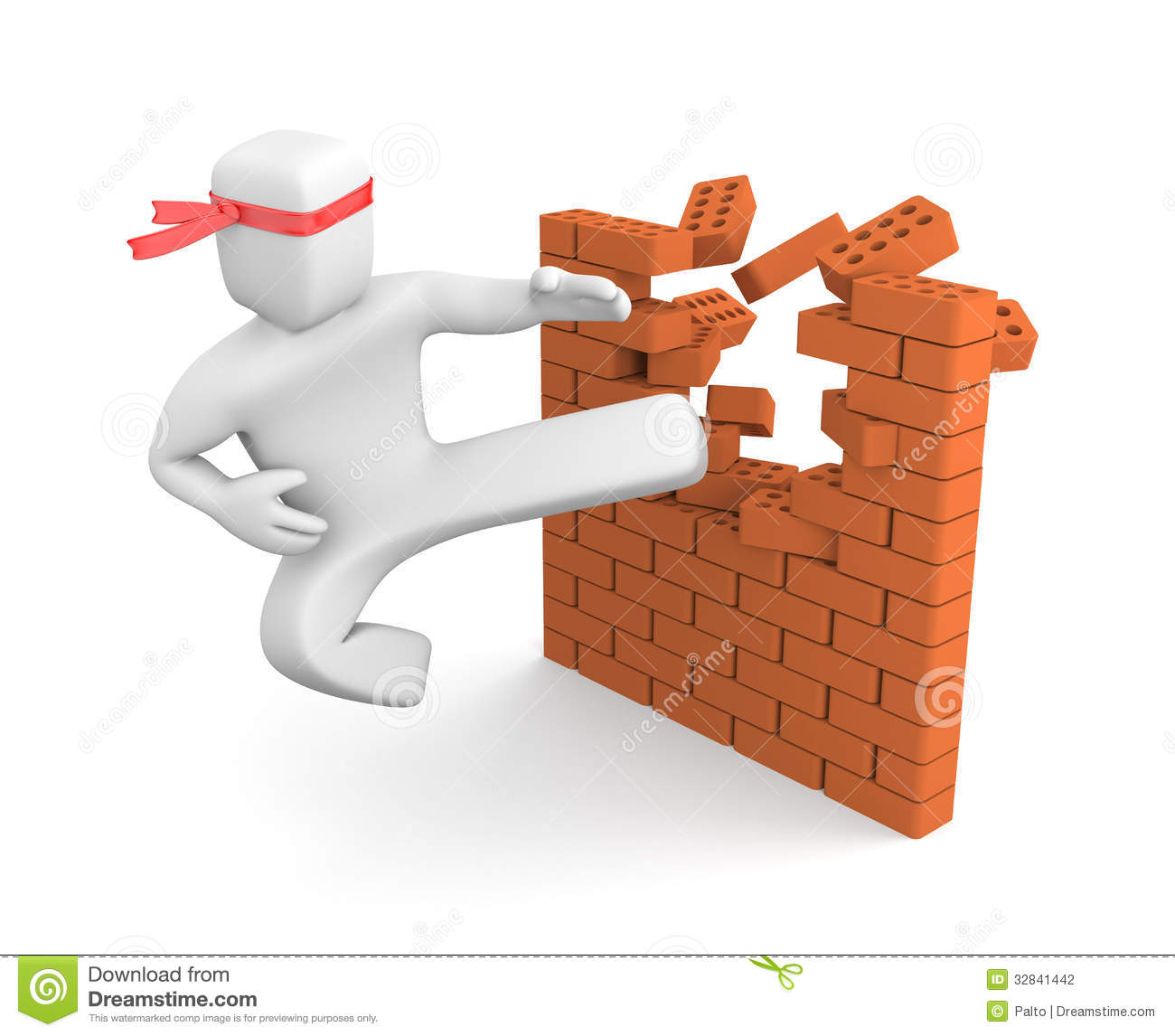 Breaking Barriers Stock Photography - Image: 32841442