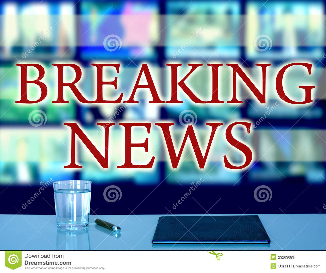 Breaking News: Breaking News Royalty Free Stock Images