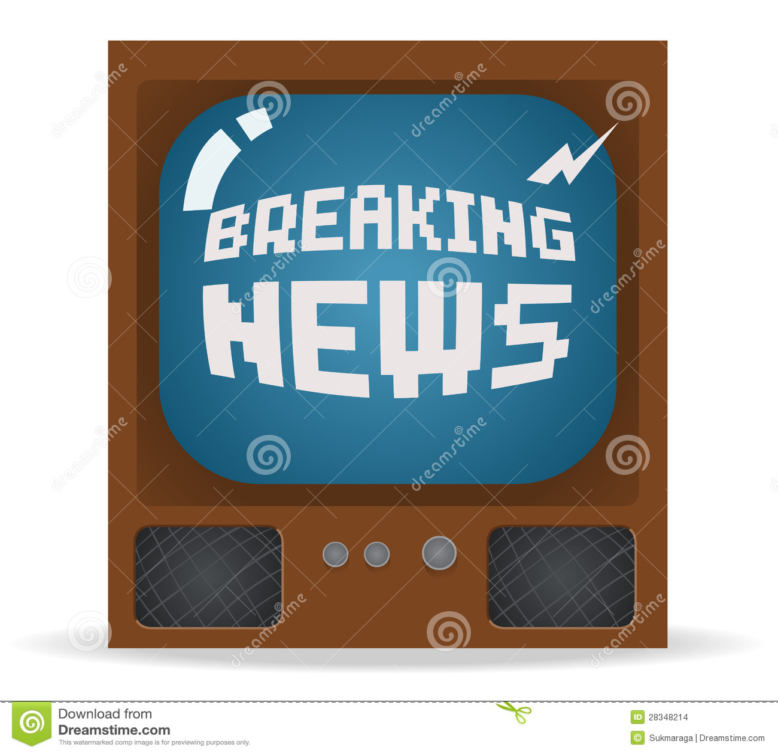 Breaking News: Breaking News Stock Images