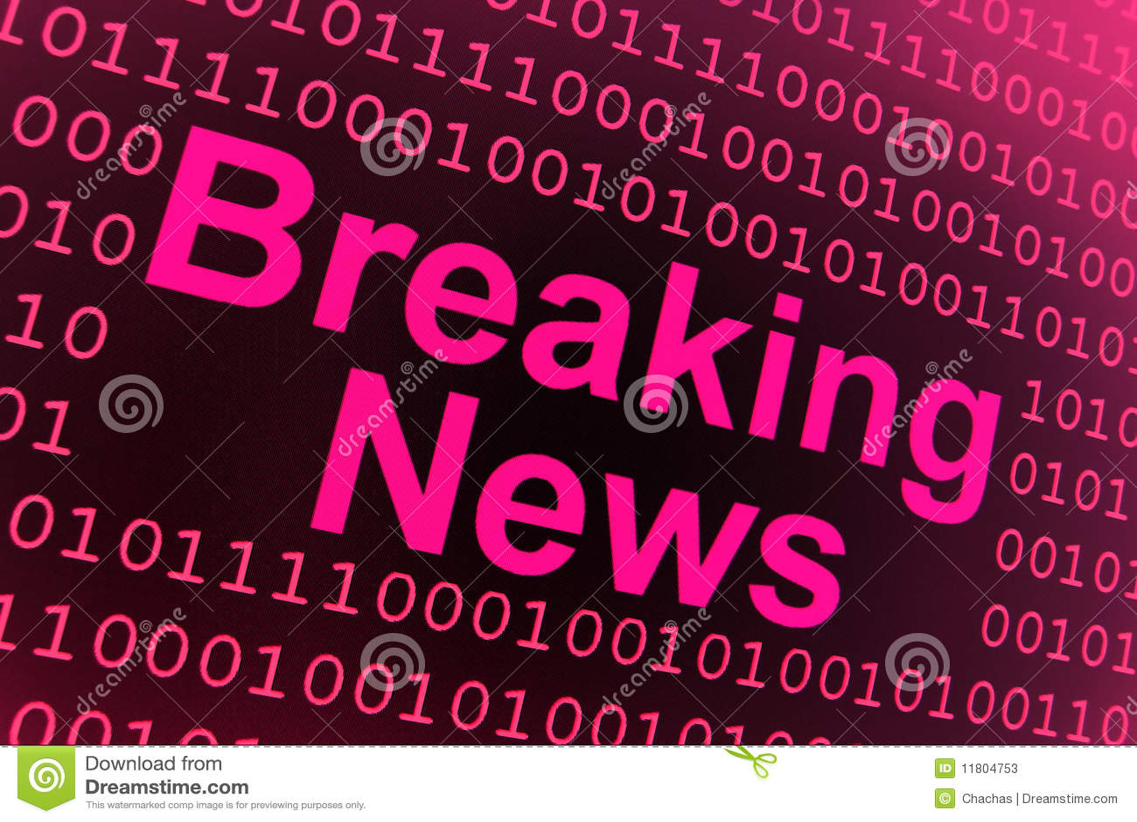 Breaking News Background Stock Photos - Image: 11804753