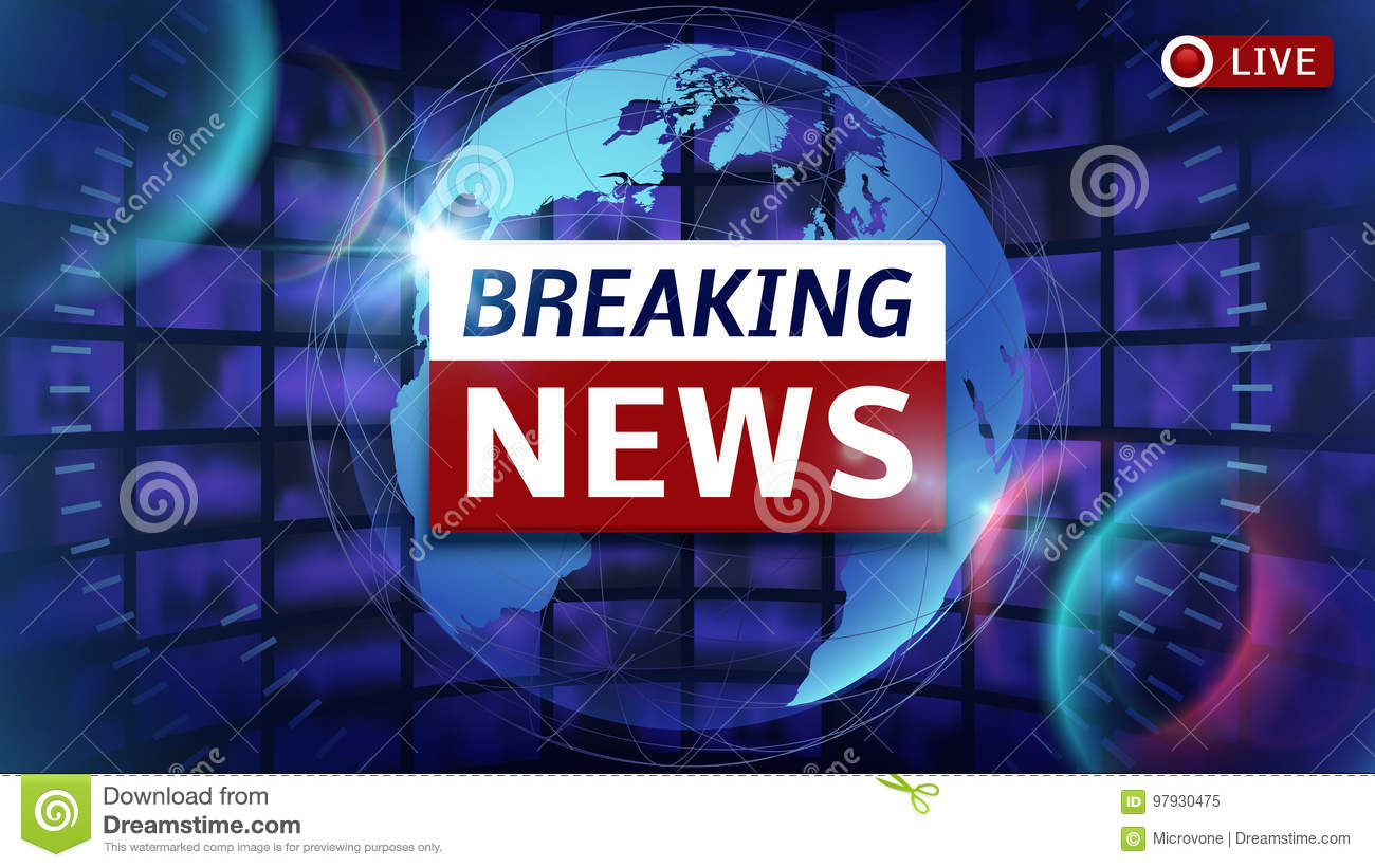Breaking news broadcast vector futuristic background with world map download breaking news broadcast vector futuristic background with world map stock vector illustration of graphic gumiabroncs Images