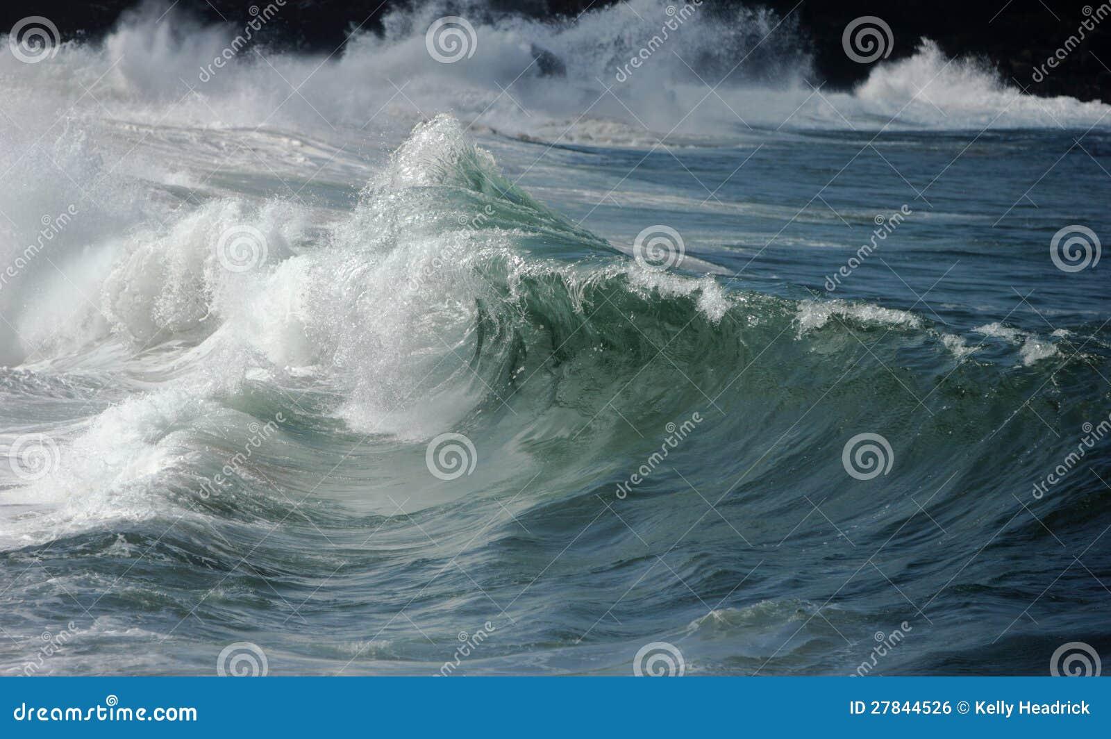 Breaking Wave Waimea Bay