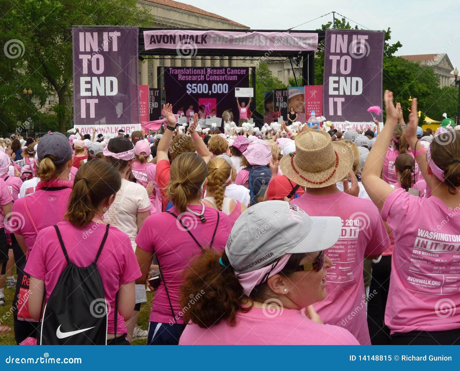 Avon breast cancer walk dc
