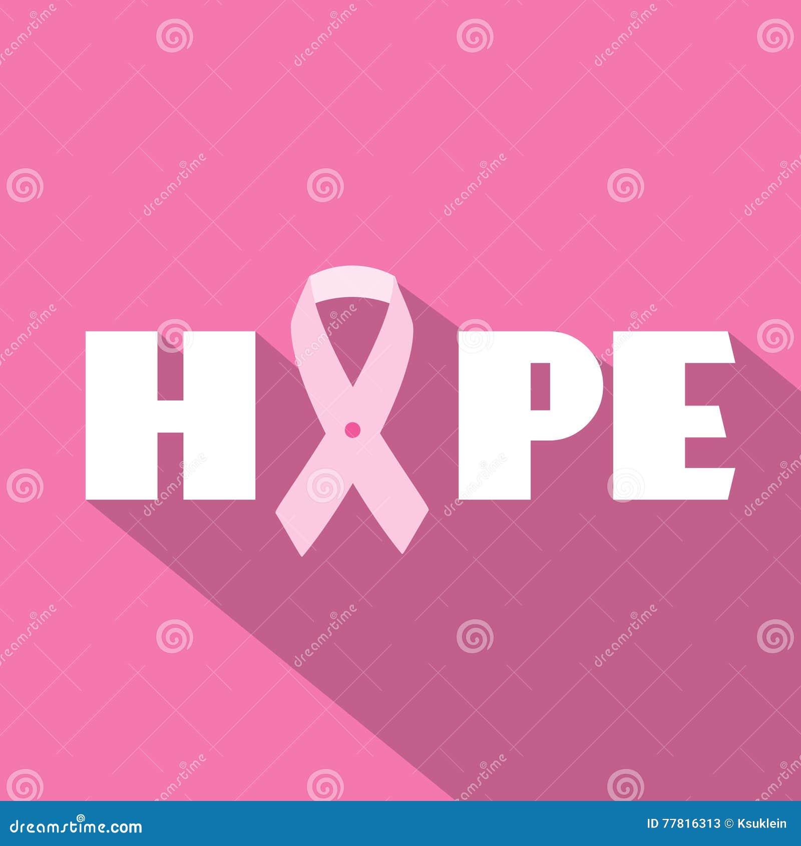 Breast cancer awareness month illustration with hope slogan and pink breast cancer awareness month illustration with hope slogan and pink ribbon symbol biocorpaavc Choice Image