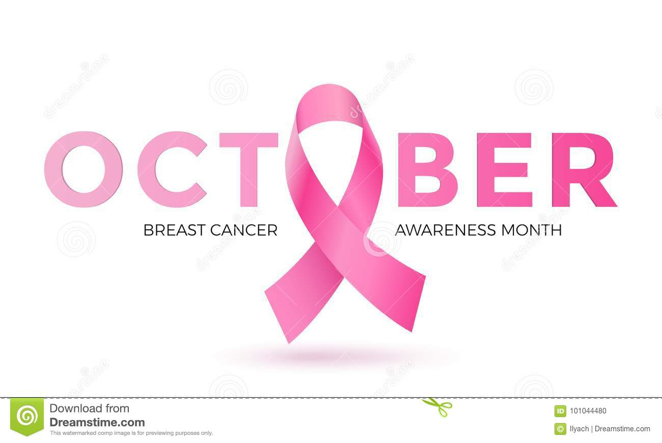 Breast cancer awareness month pink ribbon vector women solidarity breast cancer awareness month pink ribbon vector women solidarity symbol icon biocorpaavc Choice Image