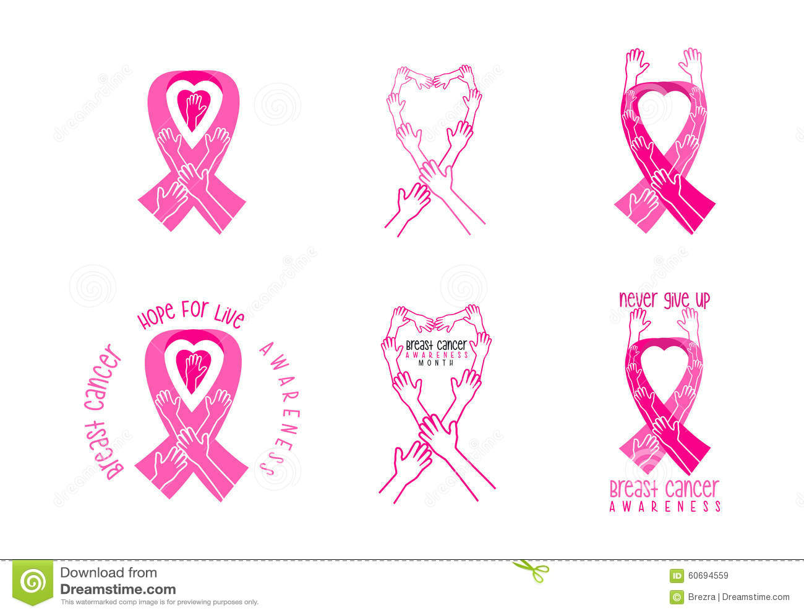 Breast cancer border stock illustrations 115 breast cancer breast cancer awareness symbol design breast cancer awareness symbol design in a set royalty free biocorpaavc