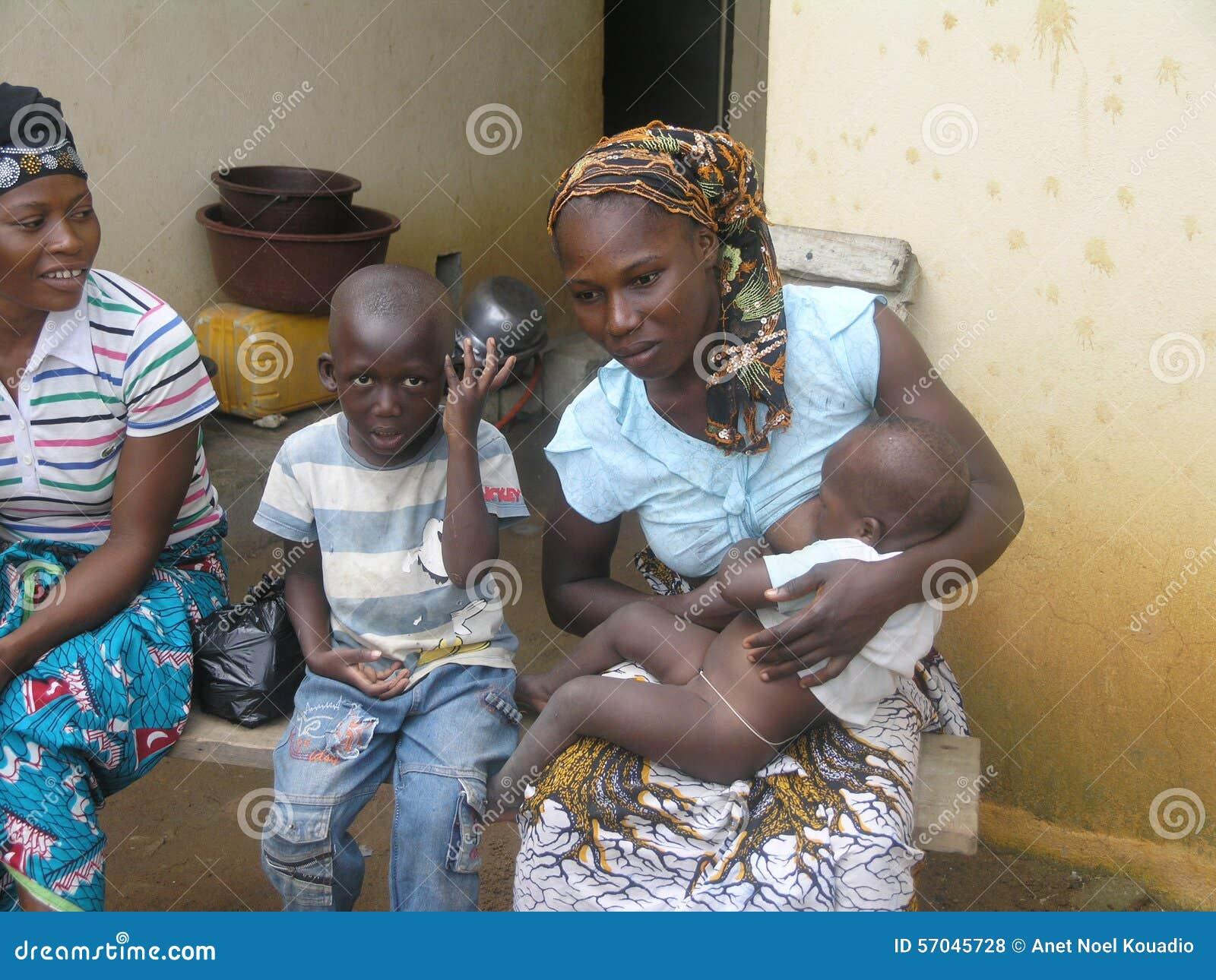 BREASTFEEDING MOTHER Editorial Stock Photo - Image: 57045728