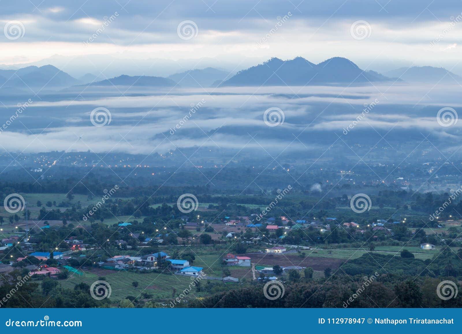 Breathtaking Views in the morning at Yun Lai viewpoint,Pai,Mae Hong Son,Northern Thailand.