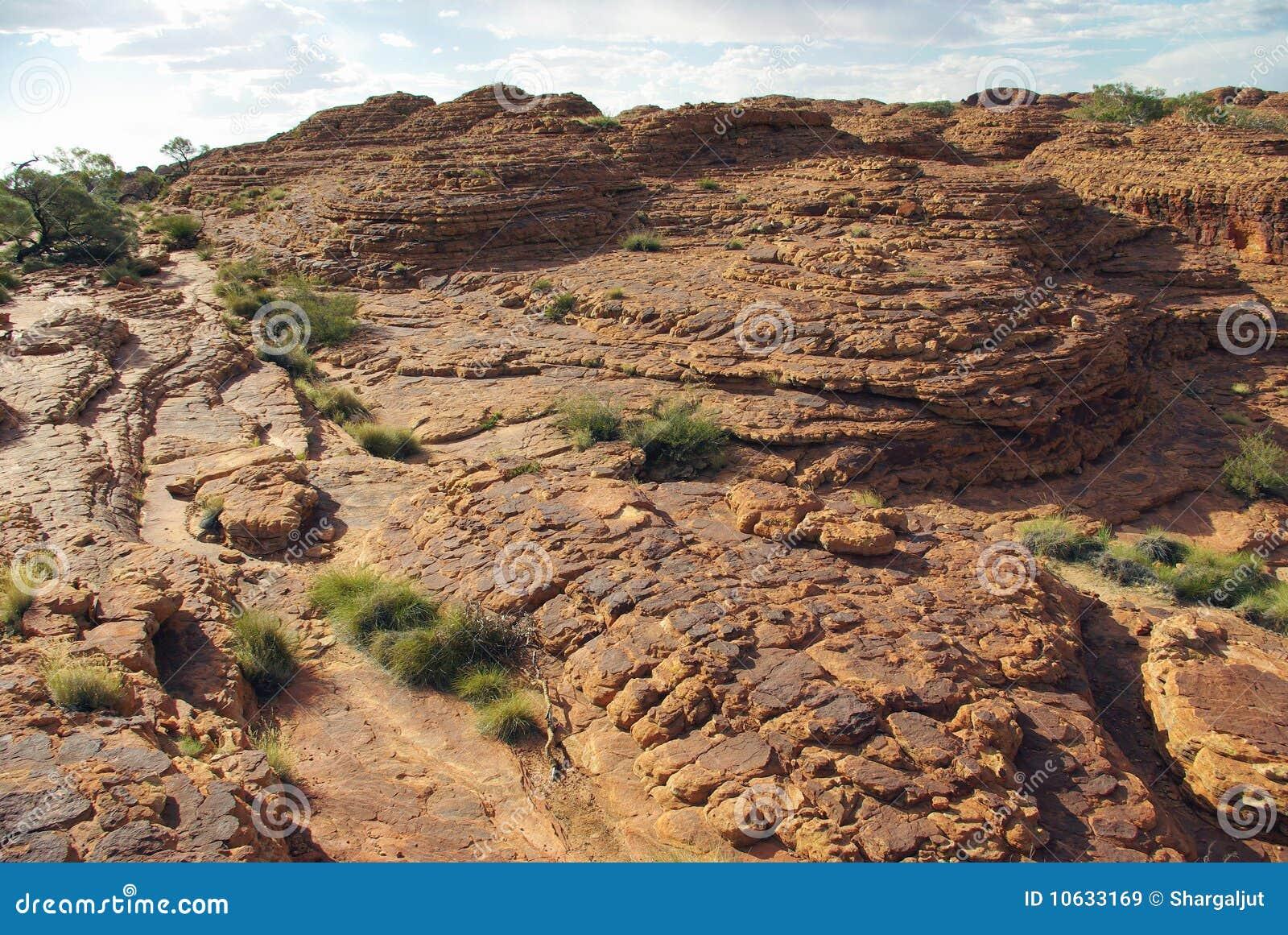 Breccia in Australian Desert