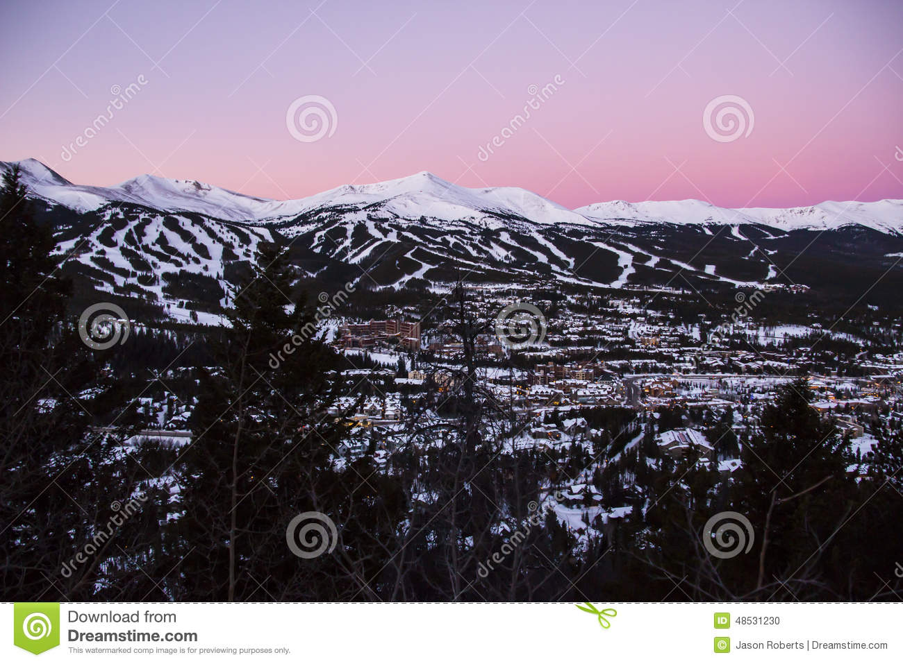 Breckenridge Ski Resort Montains