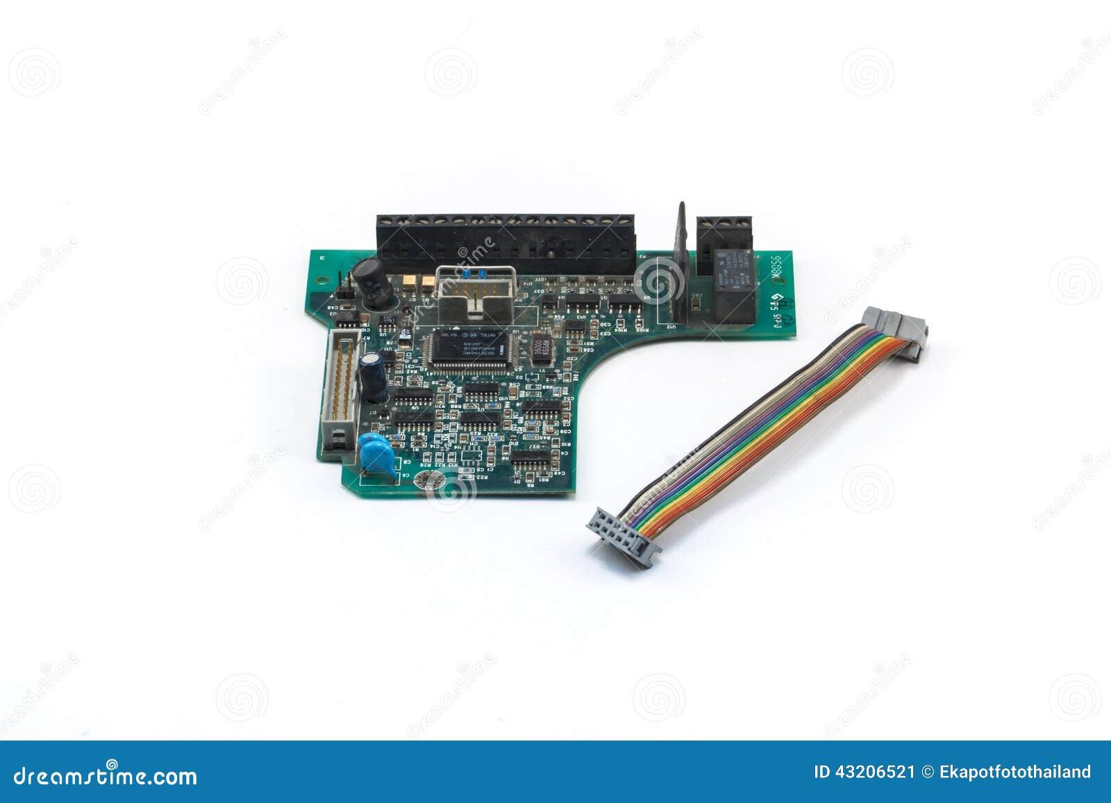 Download Bred elektronik fotografering för bildbyråer. Bild av processor - 43206521