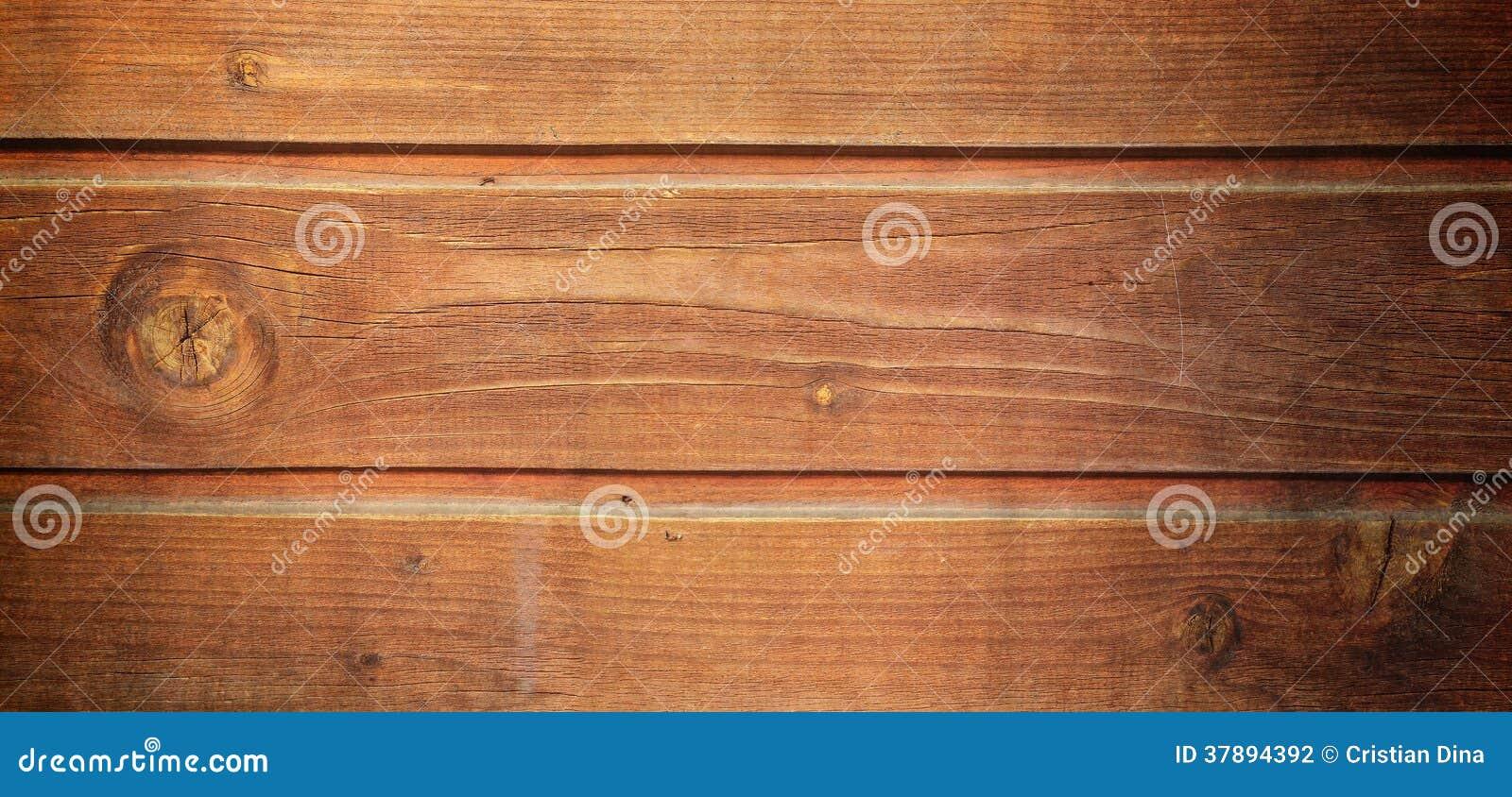 Brede grunge houten achtergrond