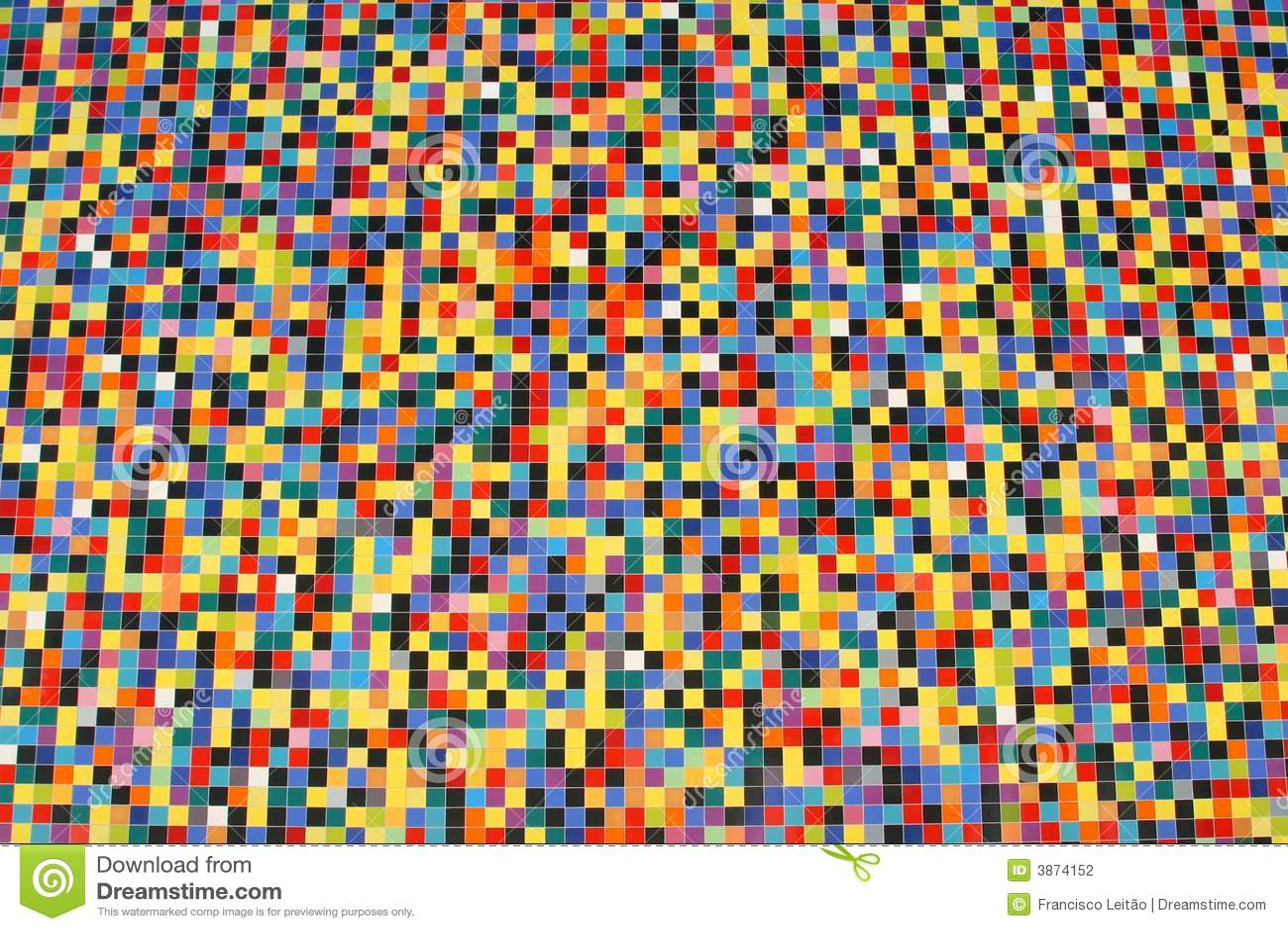 Breite Perspektive Der Bunten Mosaikfliesen Stockfoto Bild Von - Mosaik fliesen fußboden