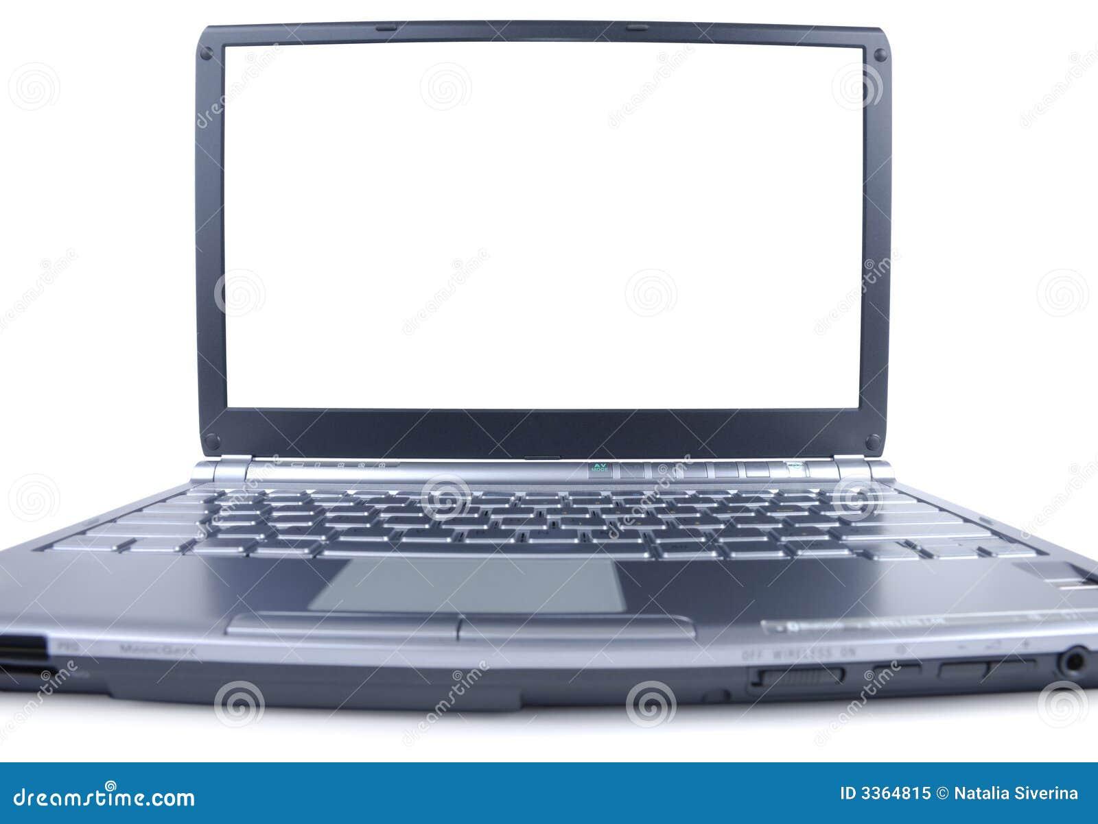Breiter Laptop