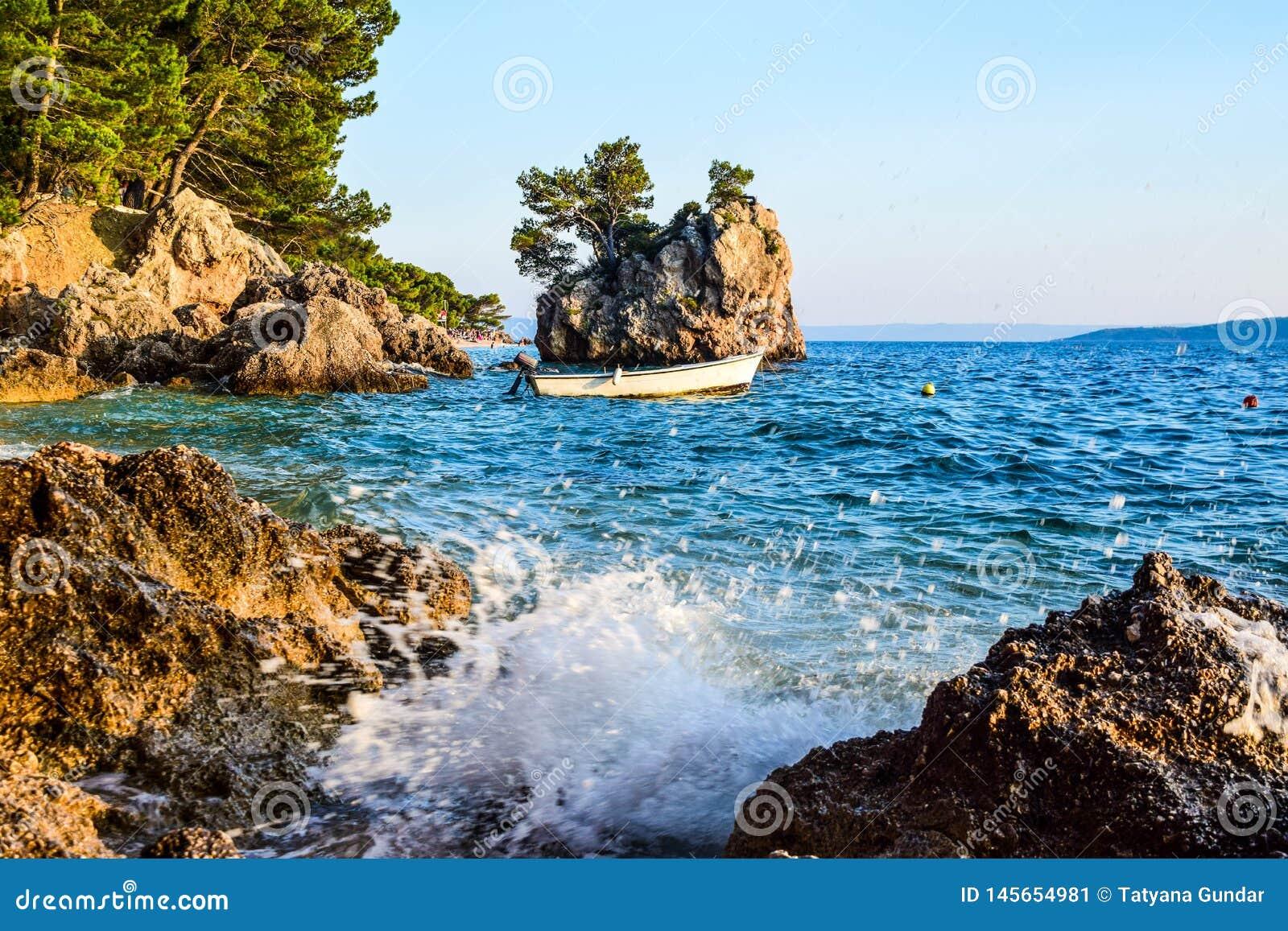 Brela rock, Croatia