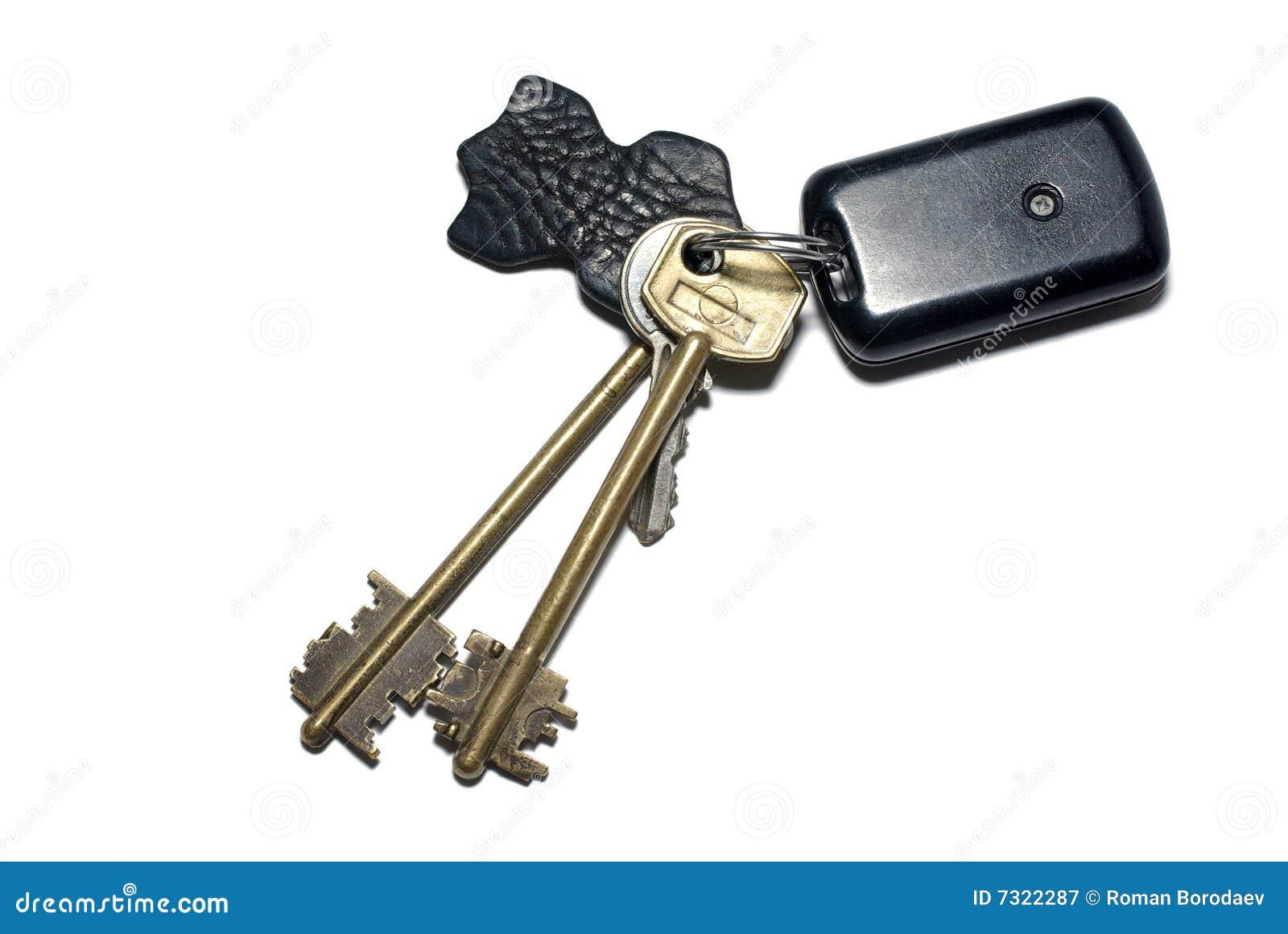 Breloque klucze