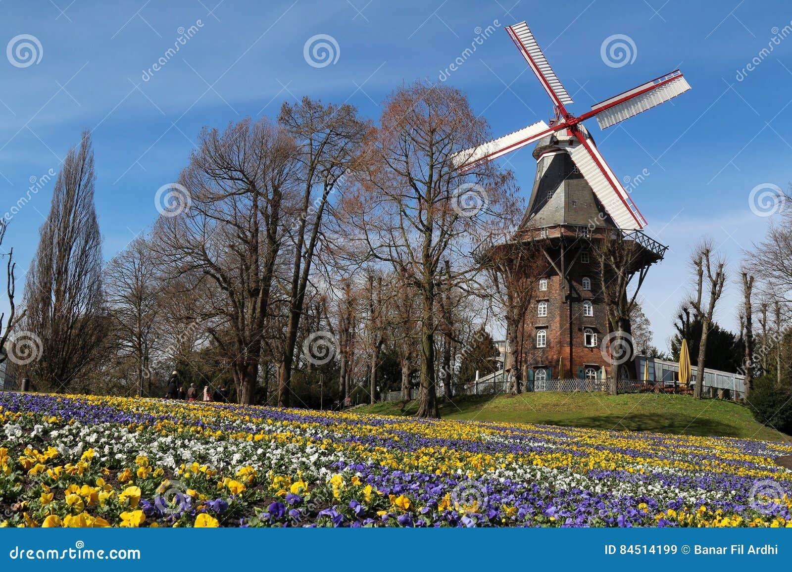 Bremen germany windmill
