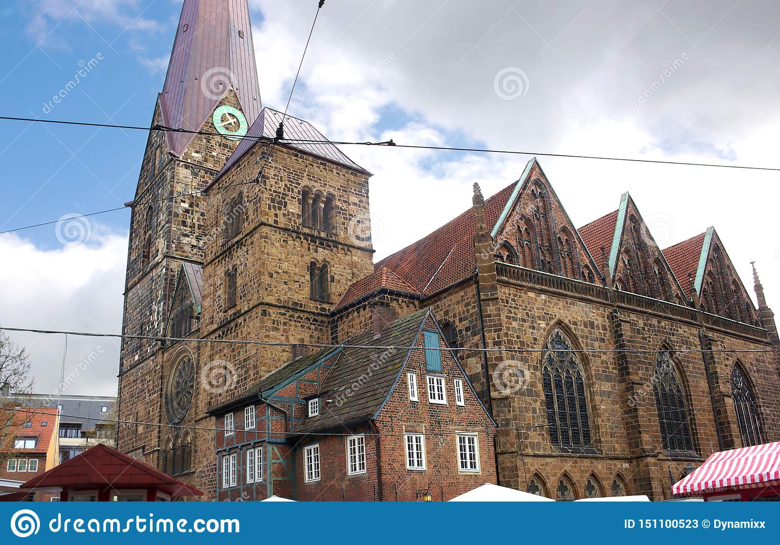 Bremen Iglesia De Nuestra Señora V Imagen De Archivo Imagen De Nuestra Bremen 151100523