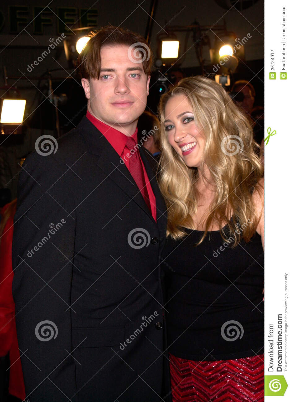 Brendan Fraser editorial photography  Image of premiere