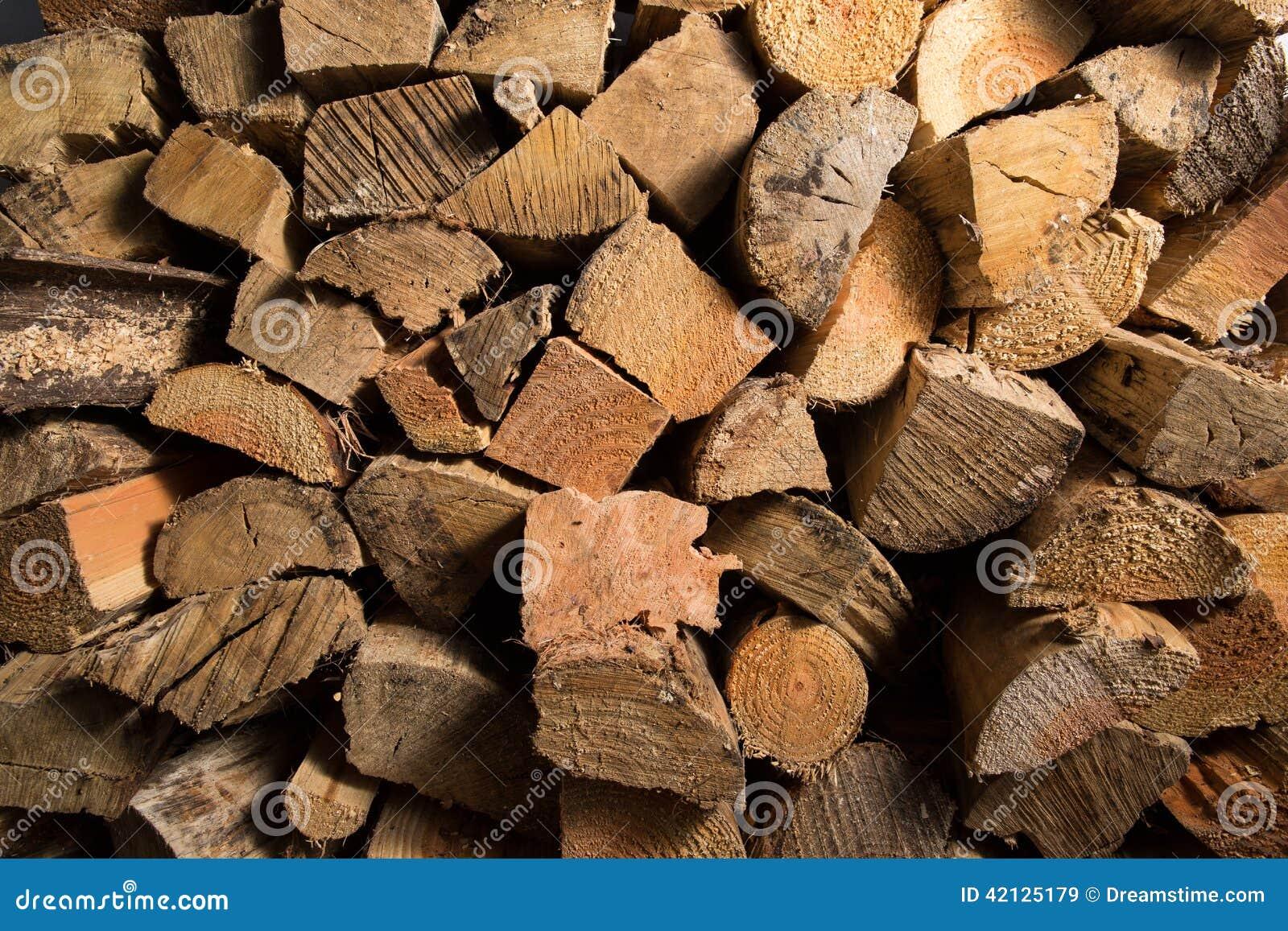 Brennholz-Beschaffenheit