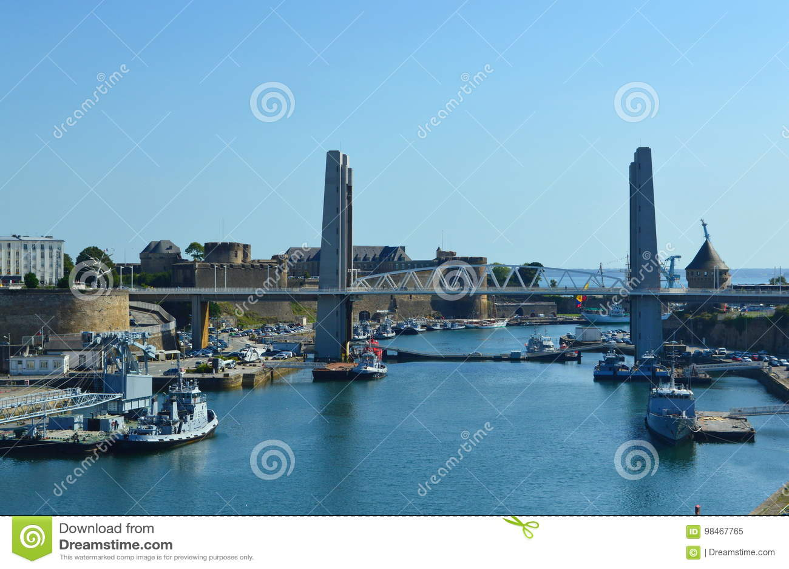 Brest der Mund des Penfeld