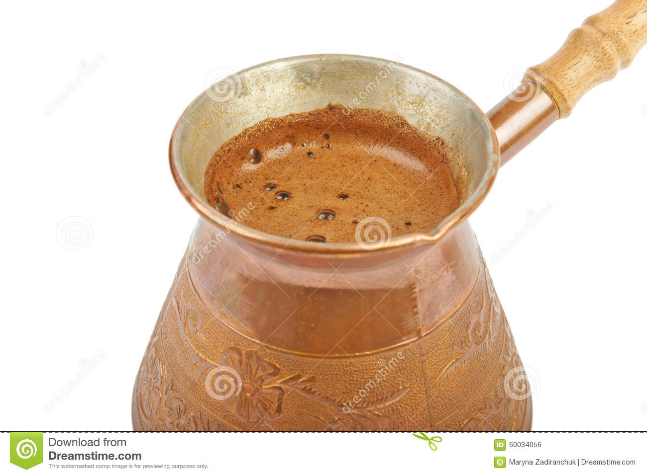 Brewed Coffee Stock Photo Image 60034056