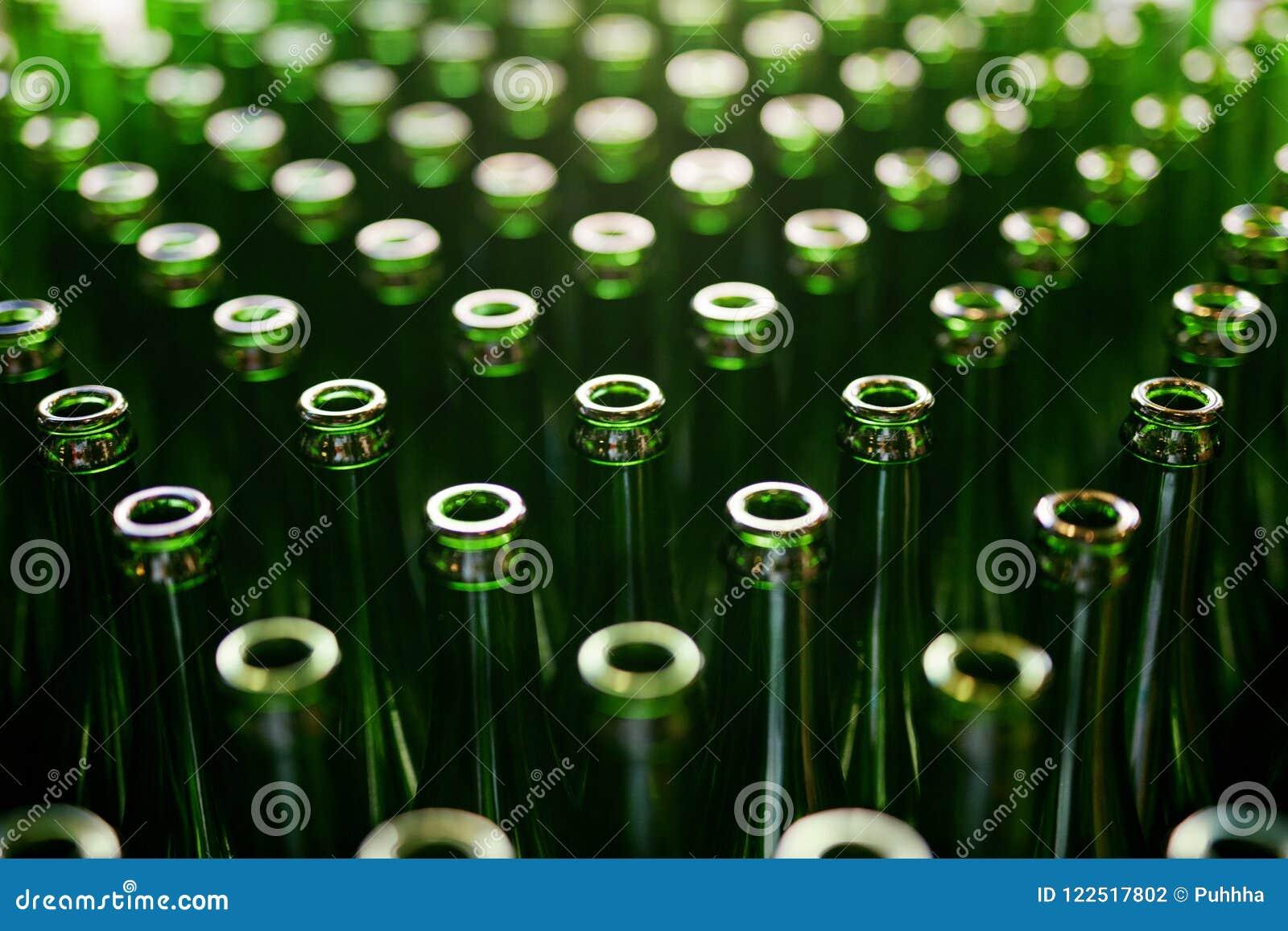 Brewery Bottiglie di birra sulla fabbricazione