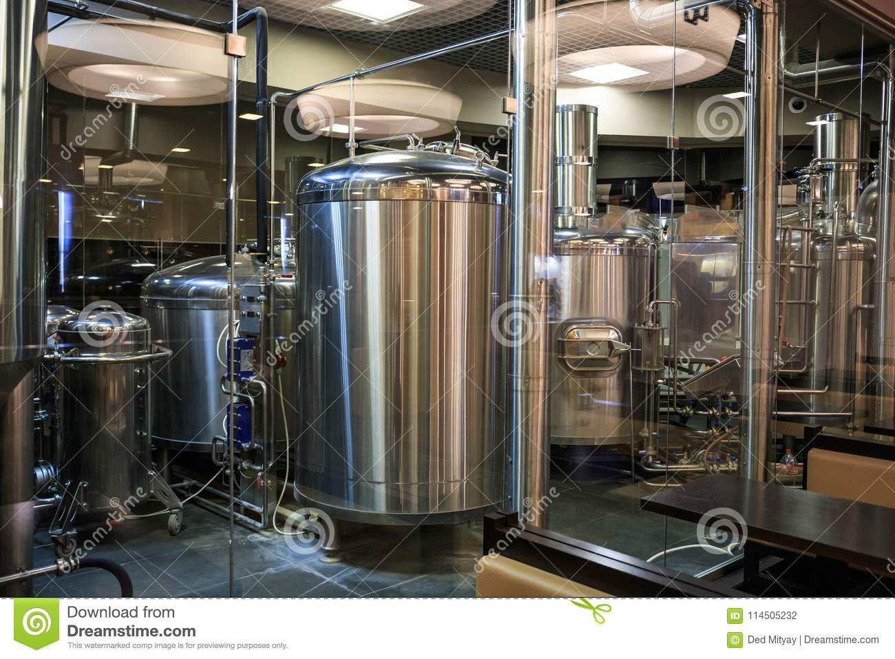 Manufacture factory alcohol production
