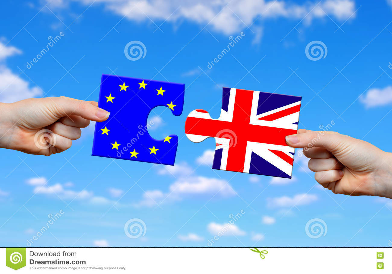 Brexit concept.