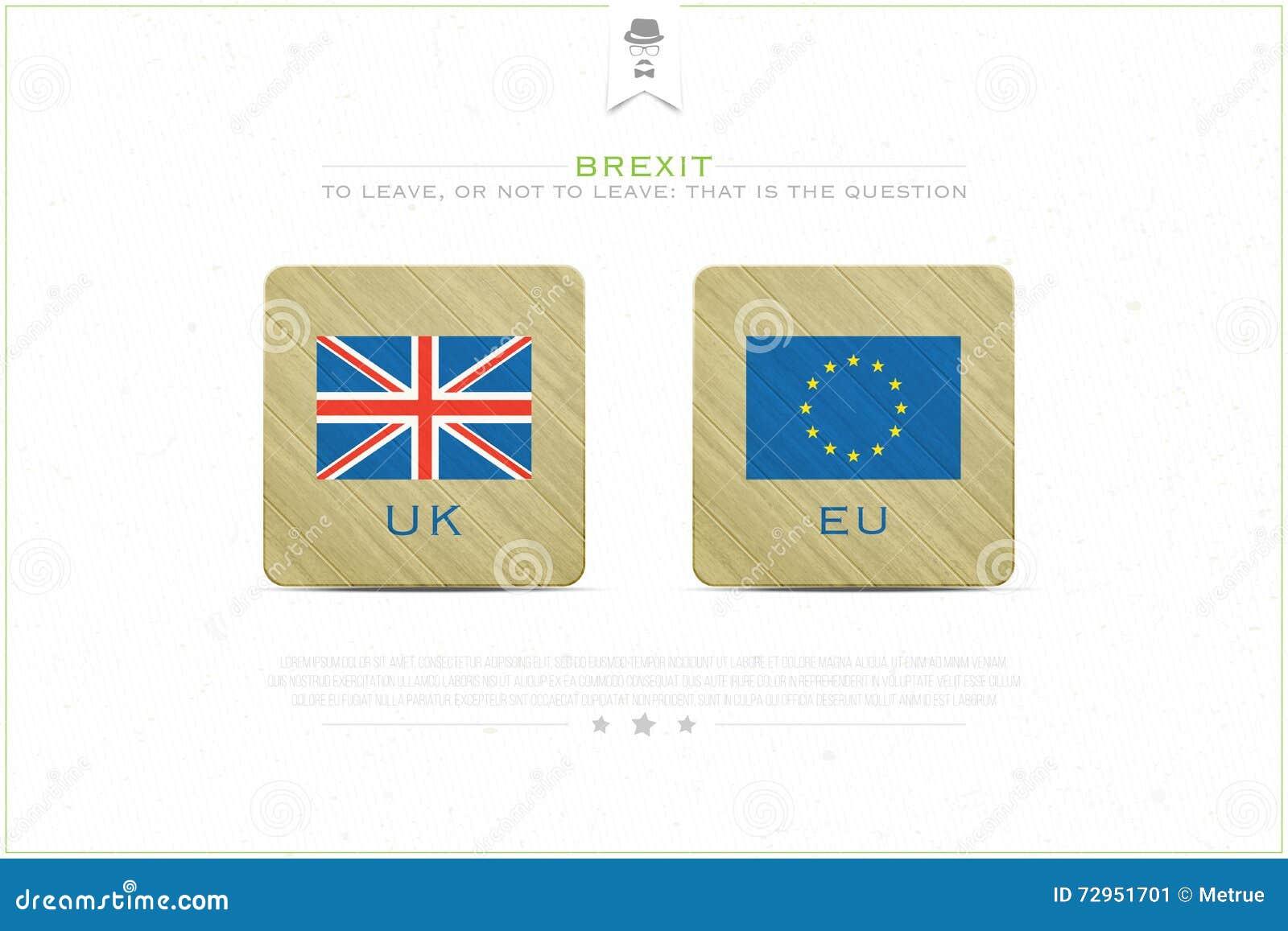 Brexit emblem