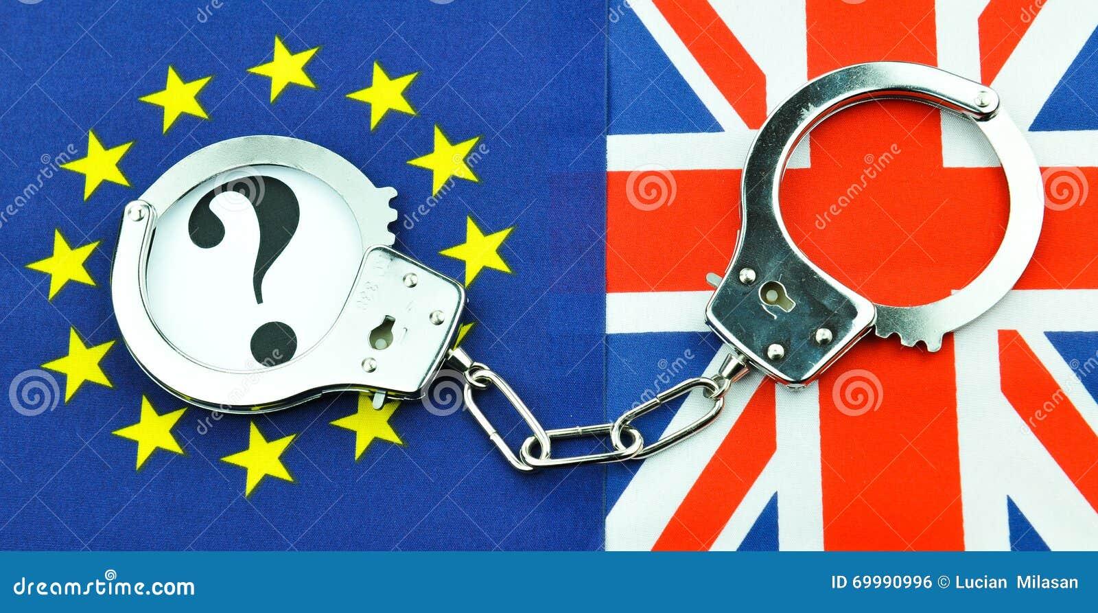 Brexit referendum concept