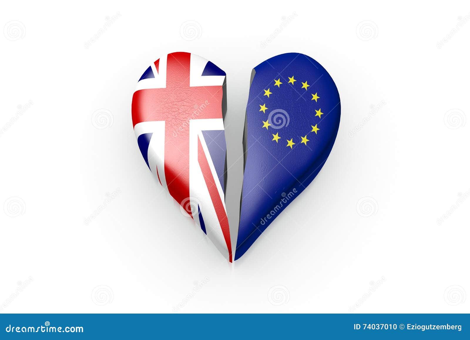 Brexit, simbolo del referendum Regno Unito contro l UE