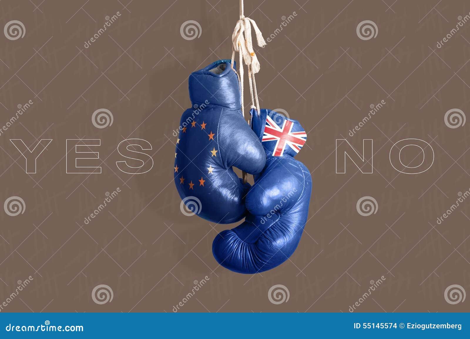Brexit, symbol referendum UK vs UE