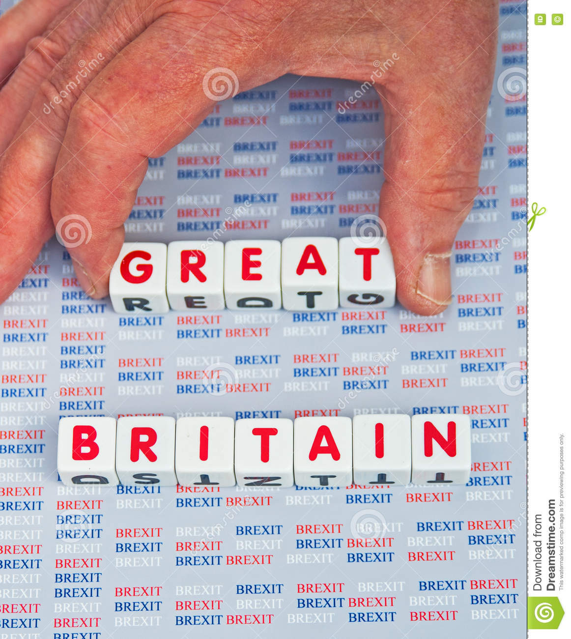 Brexit taking the  Great  out of Britain.