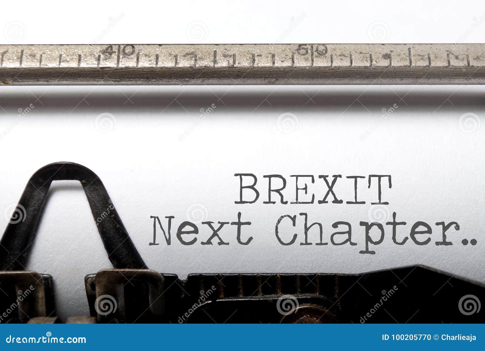 Brexit volgende hoofdstuk