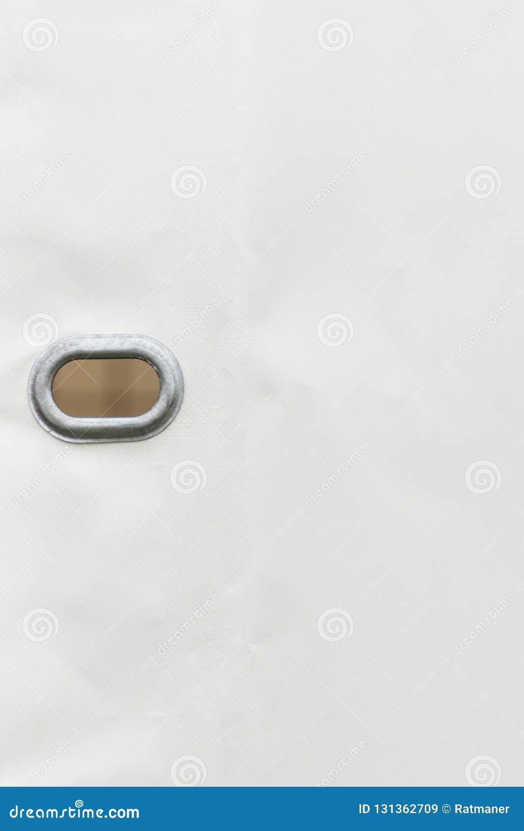 Brezent robić wodoodporny materiał jako szczegół ciężarówka, kopii przestrzeń dla teksta